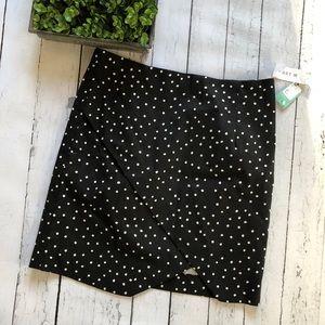 NWT Stitch Fix Margaret M Polka Dot skirt